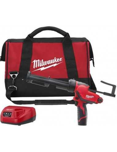 Milwaukee M12 PCG 310 C/1 Incl lader- 12 volt 2.0 AH accu -Tas