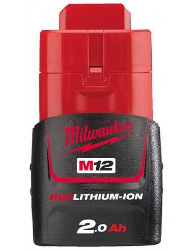 Milwaukee M12 accu B2 (12V / 2,0 Ah)