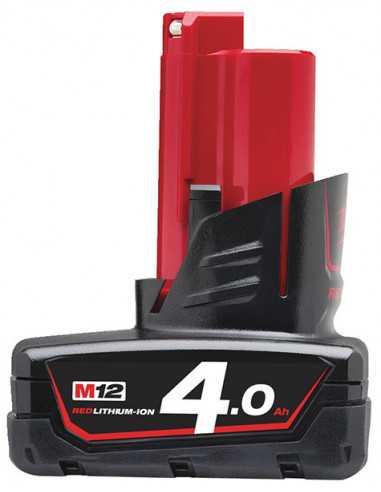 Milwaukee M12 accu B4 (12V / 4,0 Ah)