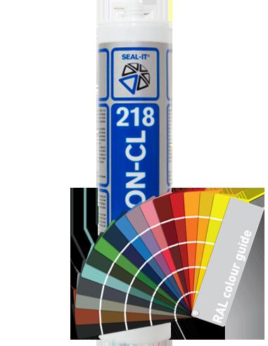 Seal-it® 218 SILICON-CL 310ml alle kleuren  - 1 is te koop bij Protil.nl